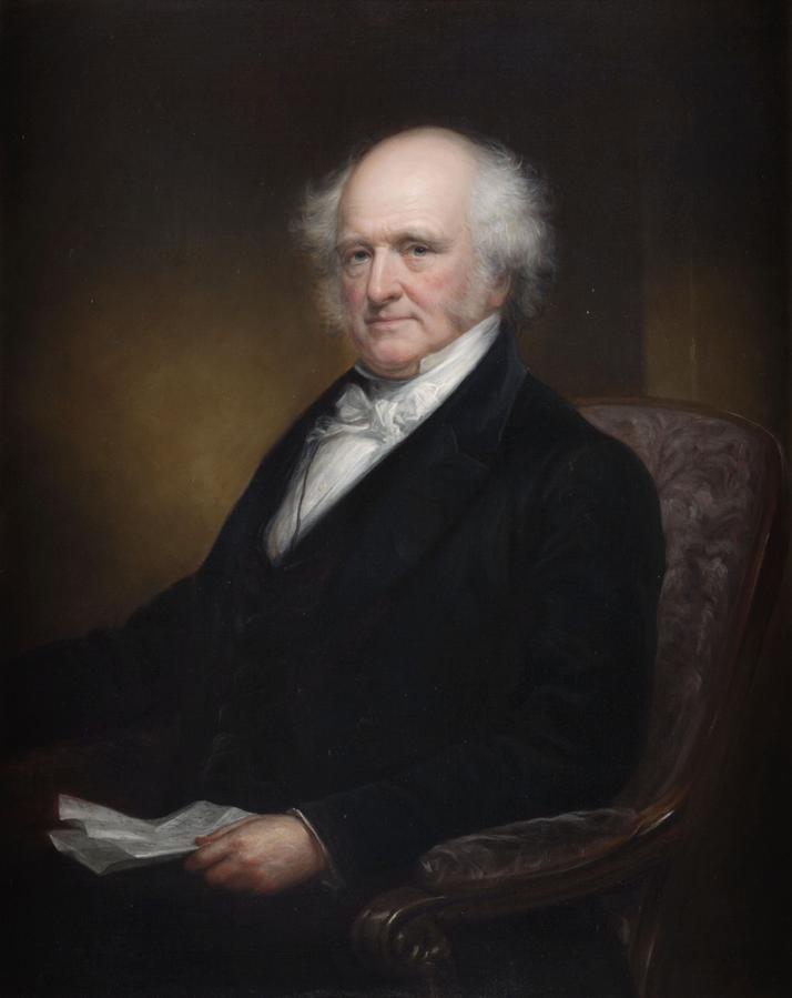 Van Buren as Governor