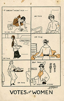 Votes for Women Poster 1915