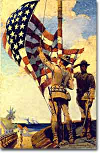 "U.S. Marines withdrawing from the Caribbean under Franklin D. Roosevelt's ""Good Neighbor Policy"""