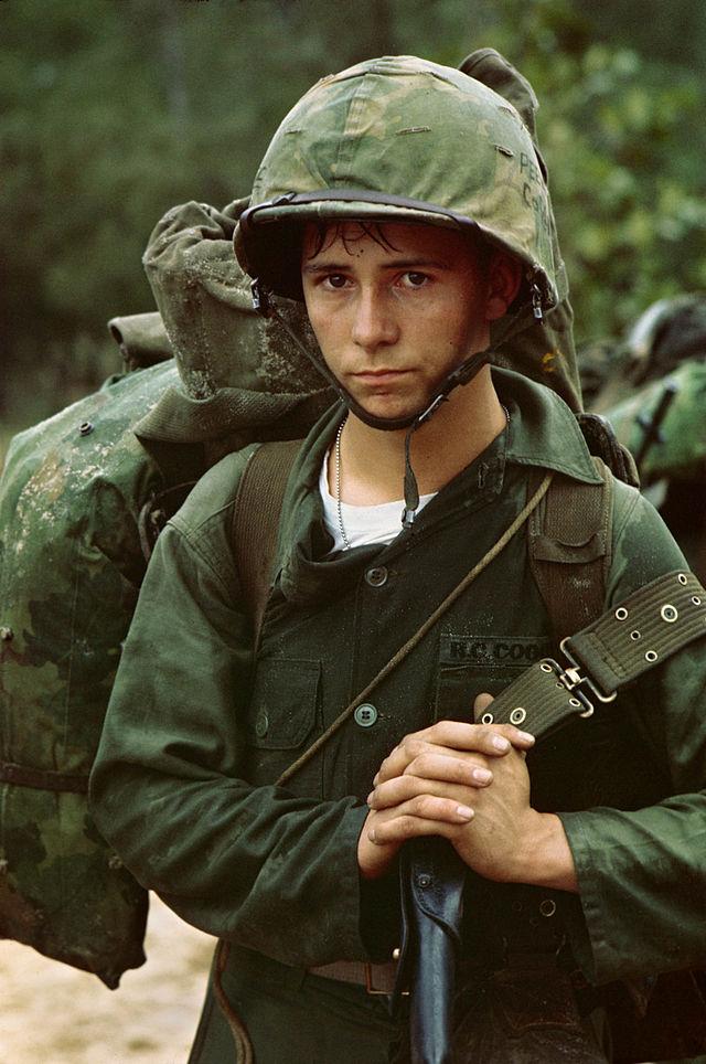 Young Vietnam Marine